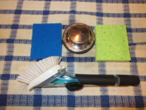 Organizing Kitchen Sink Tools
