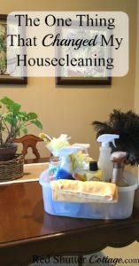 The One Thing That Changed My Housecleaning