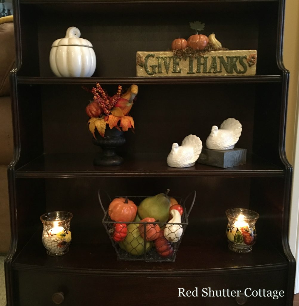 2016 fall home tour entry way close up