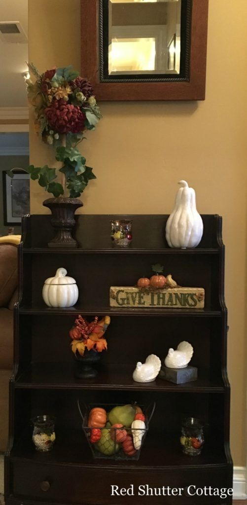 2016 fall home tour entry way full shot