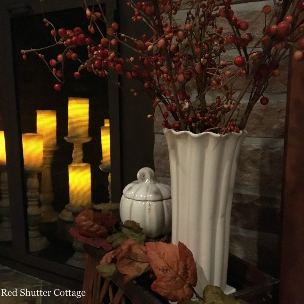 2016 Fall Home Tour fireplace