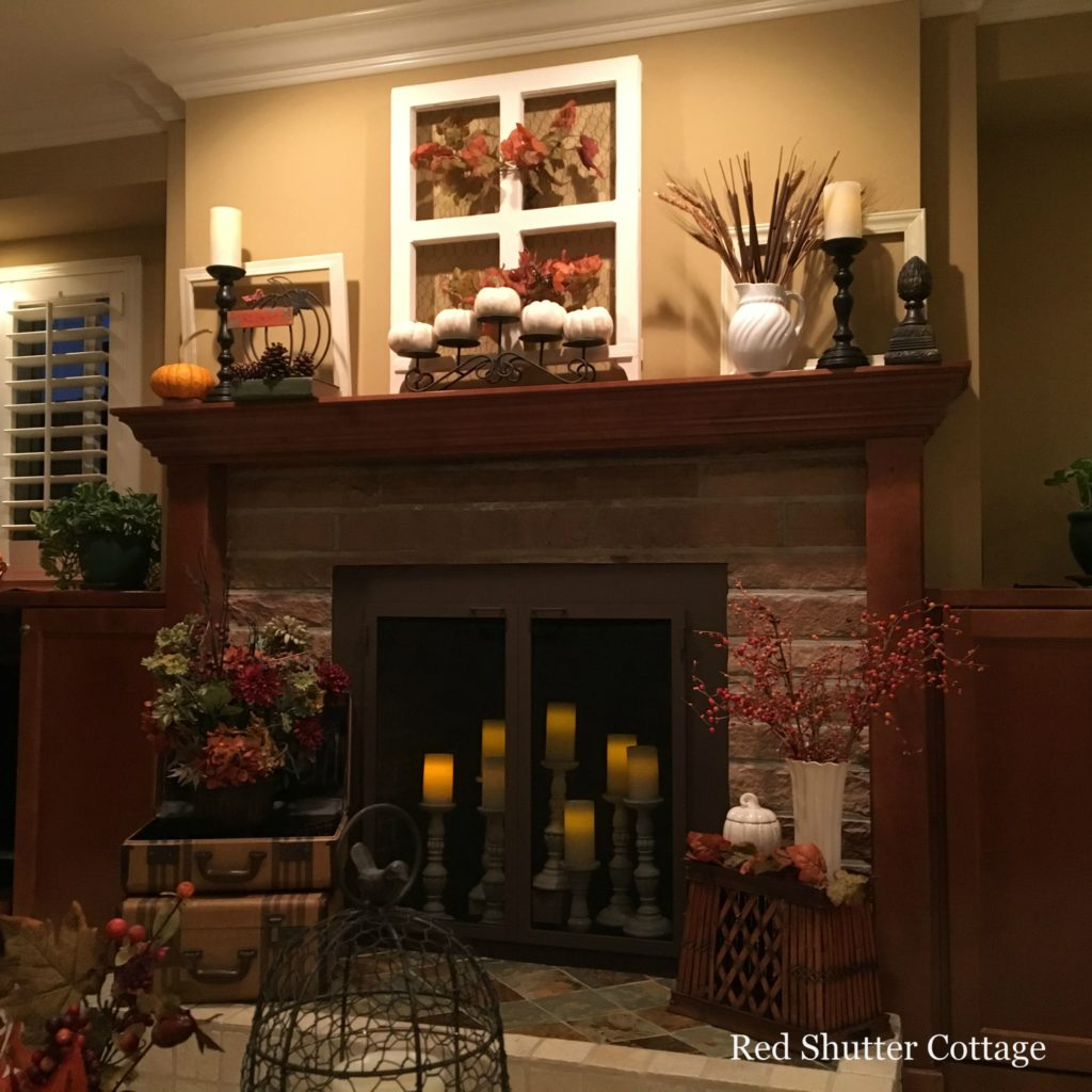 2016 Fall Home Tour hearth and mantel 2
