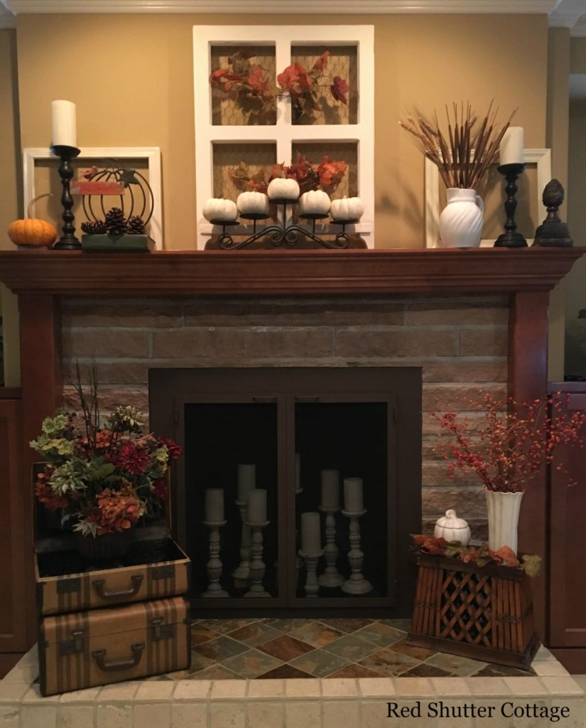2016 Fall Home Tour hearth and mantel 1