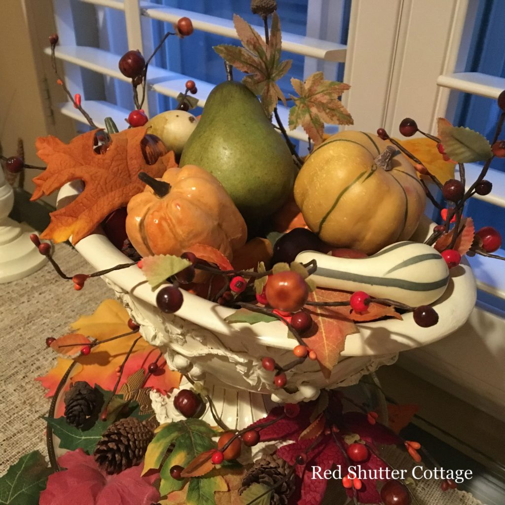 2016 Fall Home Tour window table close up 1
