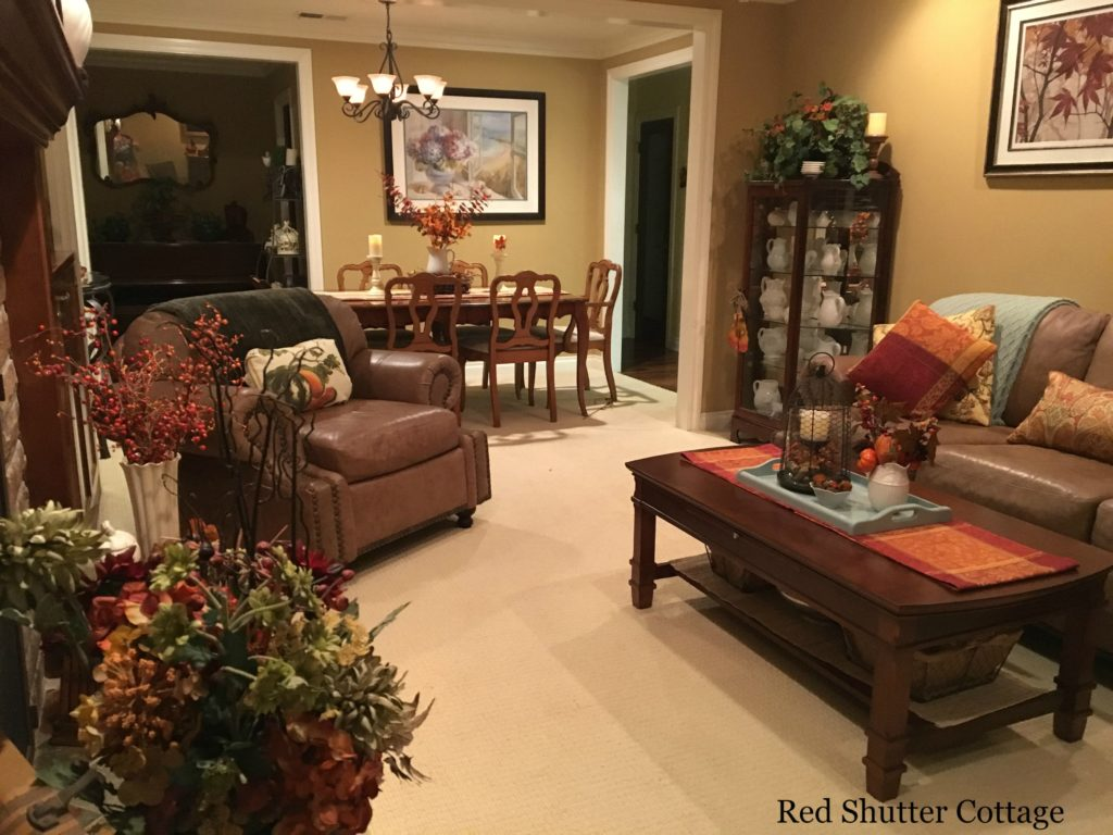 2016 fall home tour living room