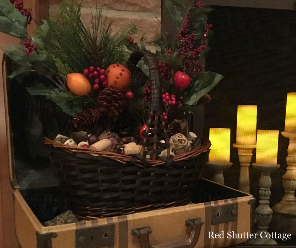Basket www.redshuttercottage.com