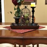 Three Fall Dining Table Vignettes. www.redshuttercottage.com