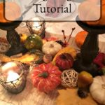 A step-by-step guide of how to create a season display for your Thanksgiving table. www.redshuttercottage.com