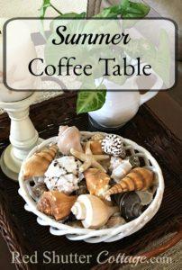 Summer Coffee Table